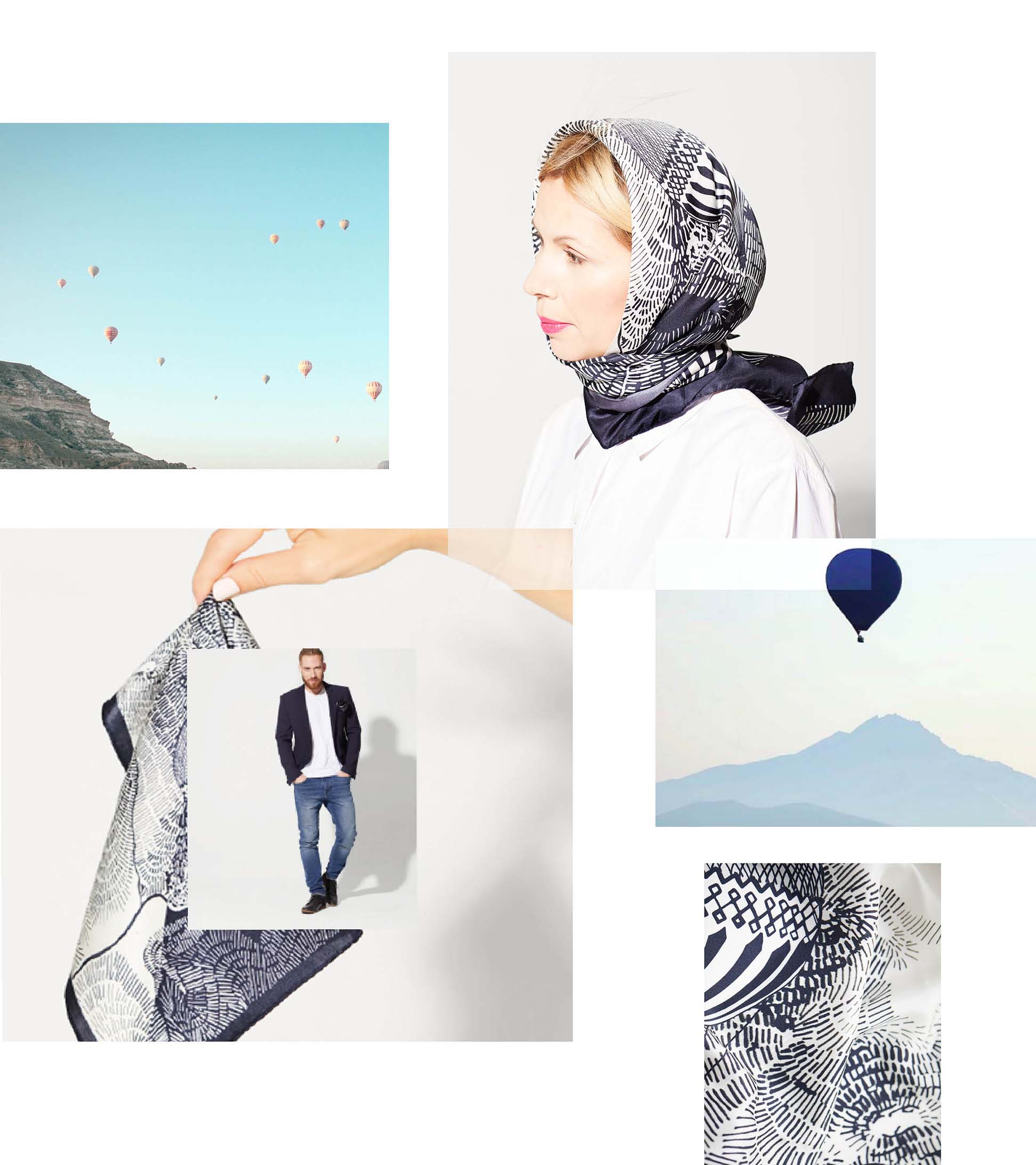 1_awol dreamer collection photo montage inspired by flying around the world looking at the sky in air balloons