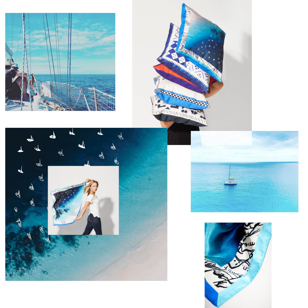 1_awol sailing travel collection of home decor and fashion accessories with a nautical design
