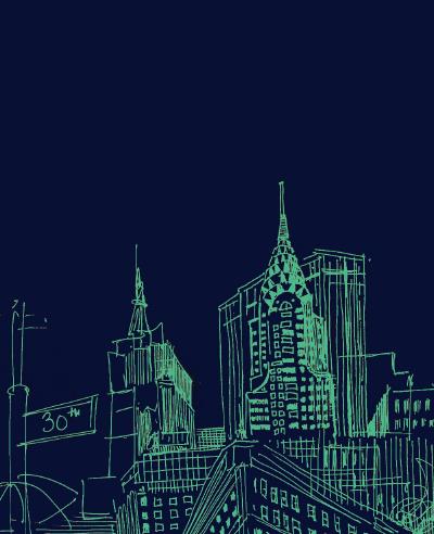 12-awol-lookbook-new-york-city-illustration-line-art-manhattan-at-night