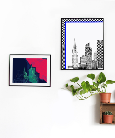 20-awol-cool-wall-art-of-new-york-city-colorful-travel-prints-for-wall